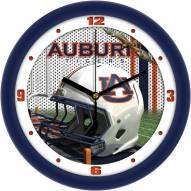 Auburn Tigers Football Helmet Wall Clock