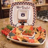 Auburn Tigers Gameday Chip N Dip Dish