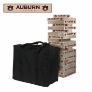 Auburn Tigers Giant Wooden Tumble Tower Game