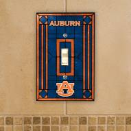 Auburn Tigers Glass Single Light Switch Plate Cover