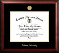 Auburn Tigers Gold Embossed Diploma Frame