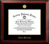 Auburn Tigers Gold Embossed Diploma Frame