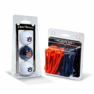 Auburn Tigers Golf Ball & Tee Pack