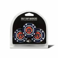 Auburn Tigers Golf Chip Ball Markers