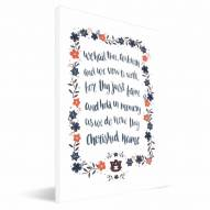 Auburn Tigers Hand-Painted Song Canvas Print