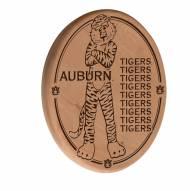 Auburn Tigers Laser Engraved Wood Sign