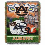 Auburn Tigers Home Field Advantage Throw Blanket