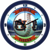 Auburn Tigers Home Run Wall Clock