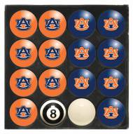 Auburn Tigers Billiard Balls - Full Set