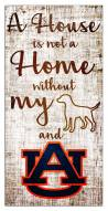 Auburn Tigers House is Not a Home Sign