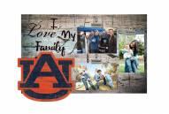 Auburn Tigers I Love My Family Clip Frame
