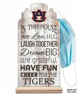 Auburn Tigers In This House Mask Holder