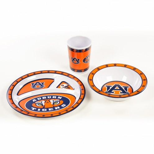 Auburn Tigers Kid's Dish Set