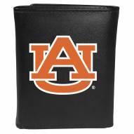 Auburn Tigers Large Logo Leather Tri-fold Wallet