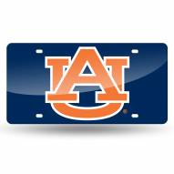 Auburn Tigers Laser Cut License Plate
