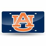 Auburn Tigers Laser Cut License Plate