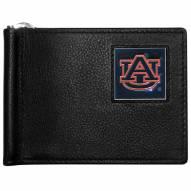 Auburn Tigers Leather Bill Clip Wallet