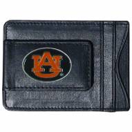 Auburn Tigers Leather Cash & Cardholder