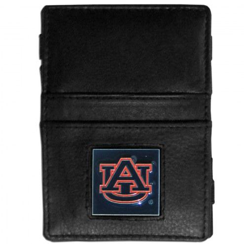 Auburn Tigers Leather Jacob's Ladder Wallet