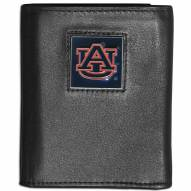 Auburn Tigers Leather Tri-fold Wallet
