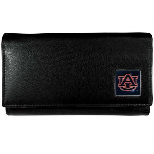 Auburn Tigers Leather Women's Wallet