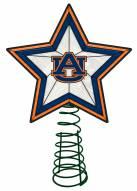 Auburn Tigers Light Up Art Glass Tree Topper