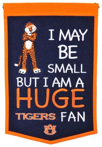 Auburn Tigers Lil Fan Traditions Banner