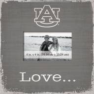 Auburn Tigers Love Picture Frame