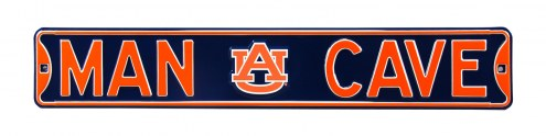 Auburn Tigers Man Cave Street Sign