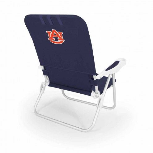 Auburn Tigers Navy Monaco Beach Chair