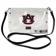 Auburn Tigers Clear Envelope Purse