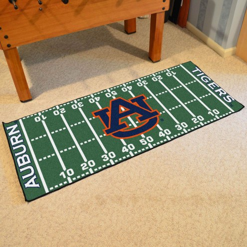 Auburn Tigers NCAA Football Field Runner Rug