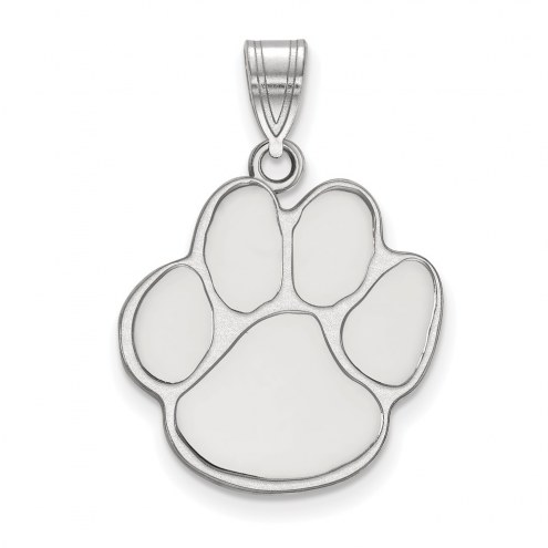 Auburn Tigers NCAA Sterling Silver Large Pendant