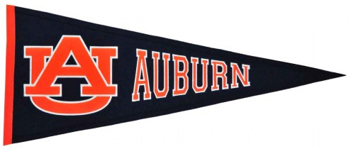 Winning Streak Auburn Tigers NCAA Traditions Pennant