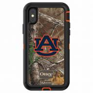 Auburn Tigers OtterBox iPhone X Defender Realtree Camo Case