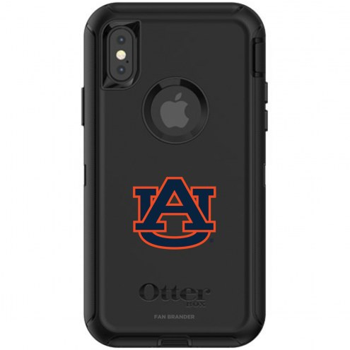 Auburn Tigers OtterBox iPhone X/Xs Defender Black Case