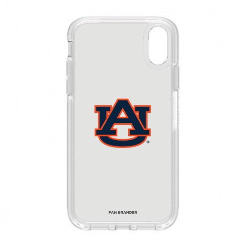 Auburn Tigers OtterBox iPhone XR Symmetry Clear Case