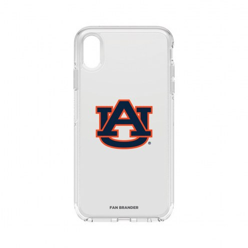 Auburn Tigers OtterBox iPhone XS Max Symmetry Clear Case