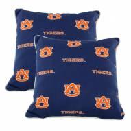 Auburn Tigers Outdoor Decorative Pillow Set
