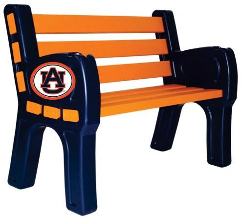 Auburn Tigers Park Bench