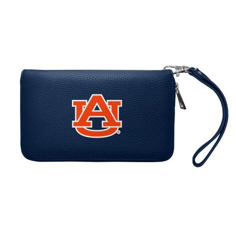 Auburn Tigers Pebble Organizer Wallet