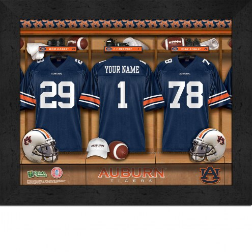 Auburn Tigers Personalized 11 x 14 Framed Photograph