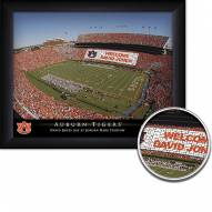 Auburn Tigers 11 x 14 Personalized Framed Stadium Print