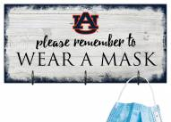 Auburn Tigers Please Wear Your Mask Sign