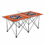Auburn Tigers Pop Up 6' Ping Pong Table