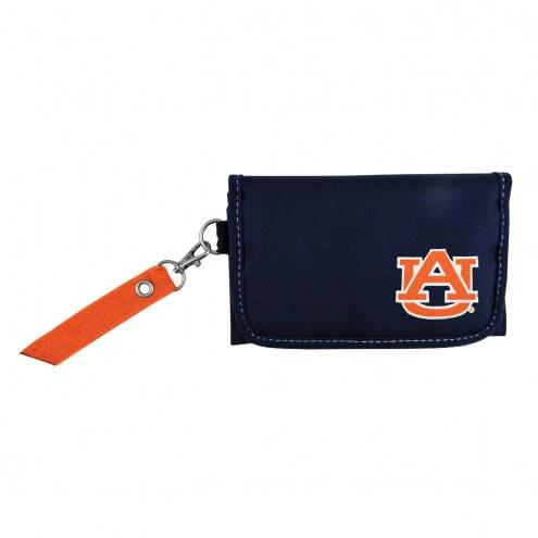 Auburn Tigers Ribbon Organizer Wallet