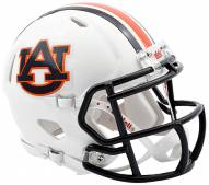 Auburn Tigers Riddell Speed Mini Collectible Chrome Football Helmet
