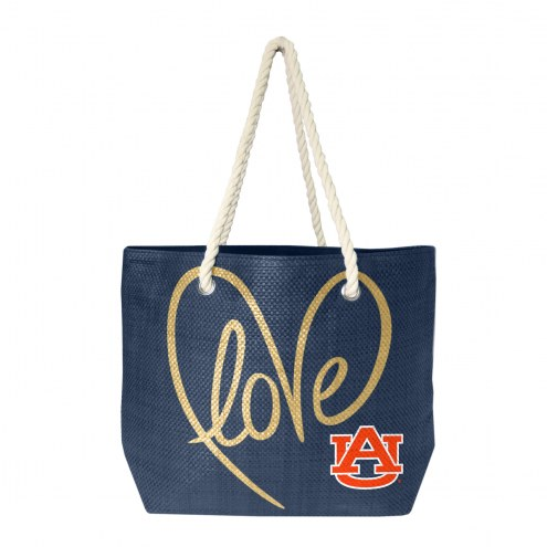 Auburn Tigers Rope Tote