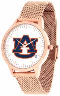 Auburn Tigers Rose Mesh Statement Watch