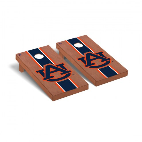 Auburn Tigers Rosewood Stained Cornhole Game Set